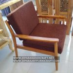 Kursi Sofa Minimalis Jati Retro Vintage