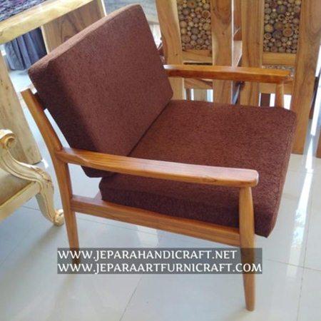 Jual Kursi Sofa Minimalis Jati Retro Vintage Murah