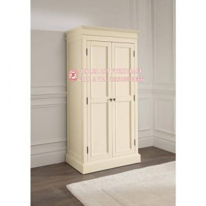 Lemari Pakaian Minimalis Mewah 2 Pintu