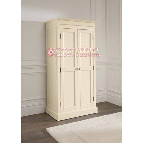 Gambar Lemari Pakaian Minimalis Mewah 2 Pintu