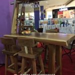 Meja Bar Minimalis Antik Trembesi