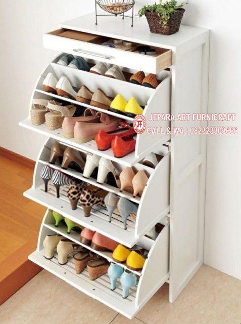 Gambar Rak Sepatu Minimalis Duco