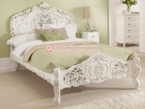 Gambar Tempat Tidur Mewah Racoco Flower 1