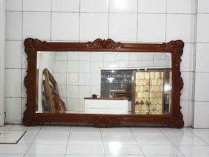 Cermin Jati Ukiran Jepara
