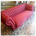 Sofa Klasik Mewah Chesterfield