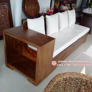 Sofa Minimalis Solid Trembesi