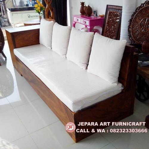 Jual Sofa Minimalis Solid Trembesi Murah Bergaransi