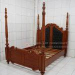 Tempat Tidur Klasik Mewah Baroque