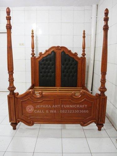 Gambar Tempat Tidur Klasik Mewah Baroque