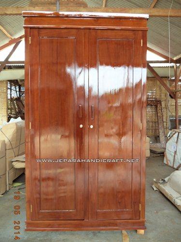 Gambar Lemari Pakaian Minimalis Flat Pintu 2