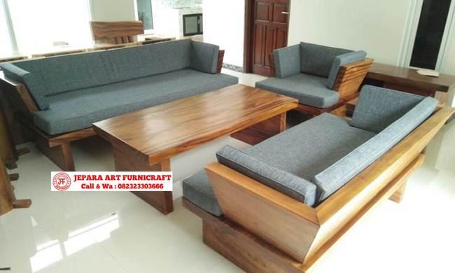 Gambar Sofa Tamu Minimalis Solid Modern Chusion