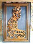 Kaligrafi Syahadat Model Tahiyat