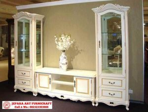 Lemari Hias Klasik French Style