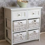 Meja Drawer White Ribbon