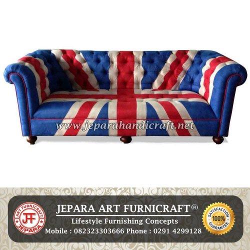 Gambar Sofa Minimalis Ruang Tamu Chesterfiled Bendera Inggris