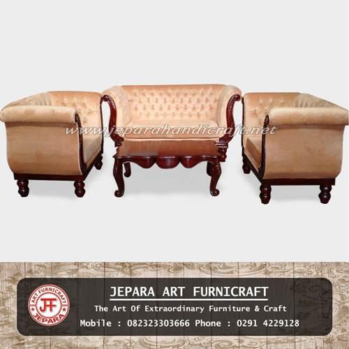 Gambar Sofa Tamu Jati Swan Legacy