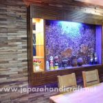Wall Art Decor Panel Kayu Jati Antik