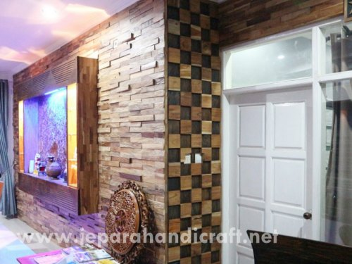 Paling Exclusive Wall Decor Dinding Kayu Jati Antik Murah