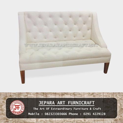 Sofa Minimalis Modern Britney White