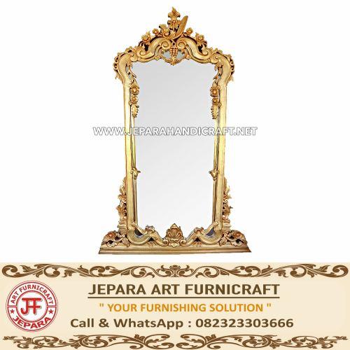 Jual Cermin Mewah Klasik Ikha Emas Jepara Murah