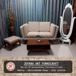 Sofa Tamu Minimalis Scandinavian Rafael