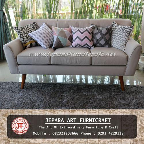 Sofa Tamu Modern Scandinavian Aldebara