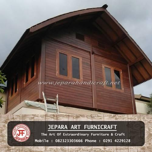 Gambar Gazebo Rumah Minimalis Kayu Kelapa Atap Sirap