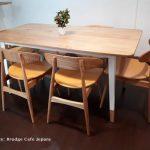 Kursi Meja Makan Cafe Scandinavian Modern