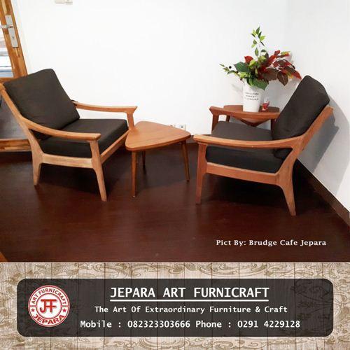 Set Kursi Sofa Minimalis Scandinavian