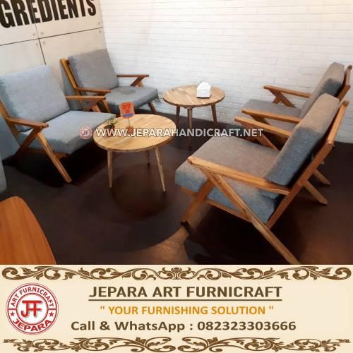 Jual Set Kursi Sofa Tamu Minimalis Scandinavian Modern Jepara Murah