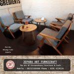 Set Kursi Sofa Tamu Minimalis Scandinavian Modern