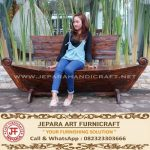 Bangku Taman Kapal Antik Jati