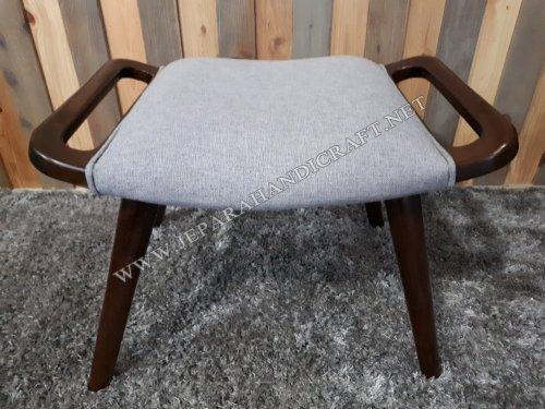 Jual Stool Kursi Sofa Minimalis Replica Papa Bear Hans Wegner Murah