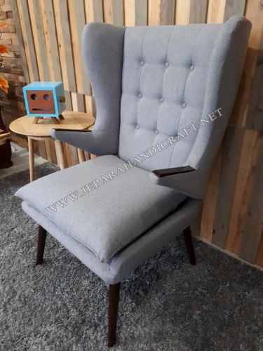 Jual Kursi Sofa Minimalis Replica Papa Bear Hans Wegner Murah Vintage