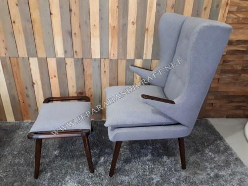 Jual Kursi Sofa Minimalis Replica Papa Bear Hans Wegner Cafe