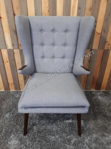 Kursi Sofa Minimalis Replica Papa Bear Hans Wegner Scandinavian