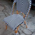 Kursi Minimalis Rotan Cafe Zebra