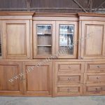 Kitchen Set Jati Minimalis Kolonial