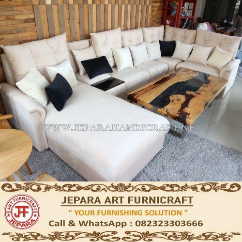 Jual Sofa Tamu Modern Minimalis Grace Harga Murah Terbaru
