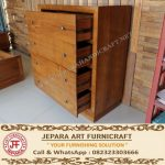 Buffet Storage Minimalis Jati Marva