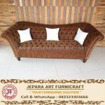 Sofa Mewah Jati Chesterfield American Style