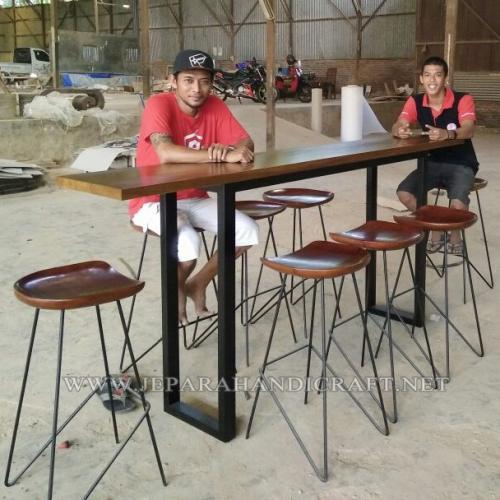 Jual Meja Kursi Cafe Restoran Kayu Jati Jepara Harga Murah