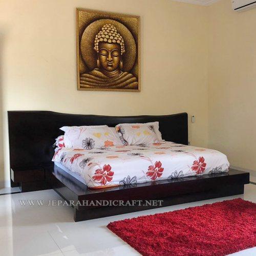 Jual Tempat Tidur Kayu Jati Minimalis Jepara Harga Murah