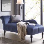 Elysia Sofa Mewah Chaise Lounge Blue