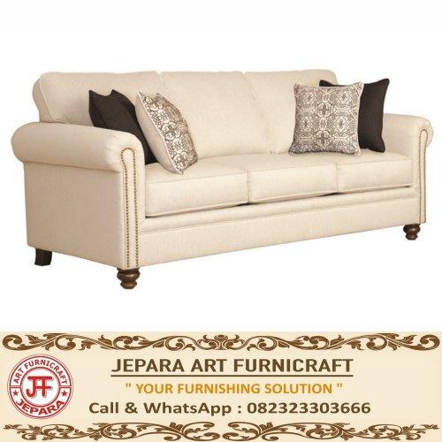 Sofa American Style Mewah Reno 3 Seat