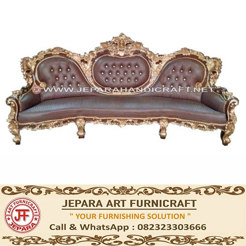 jual Sofa Barcelona Royal Calista Jati Exclusive