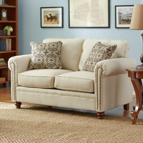 Jual Sofa Ruang Tamu Mewah Reno Love Seat Harga Murah