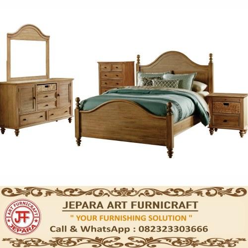Jual Norfolk Furniture Kamar Set American Style Mewah Jepara Harga Murah