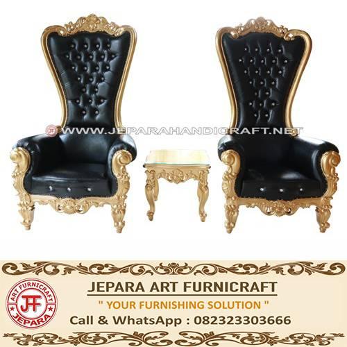jual Set Sofa Mewah Princess Black Gold Elegant