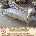 Sofa Classic Mewah Chaise Lounge Elora